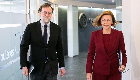 Rajoy: cada vez es más claro que la única vía es la Constitución y Estatut