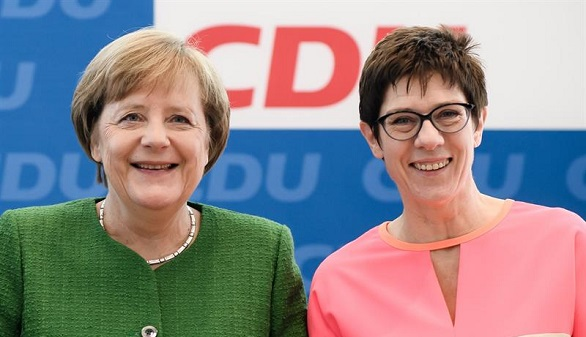 Así es Kramp-Karrenbauer, la sucesora elegida por Angela Merkel