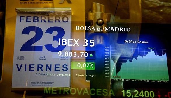 La Bolsa pierde el 0,55 % arrastrada por el bajón de Inditex