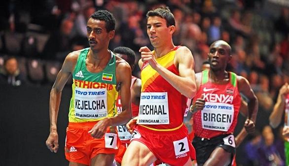 Mundiales de atletismo. Sólo Etiopía puede con Mechaal en el cierre de la participación de España
