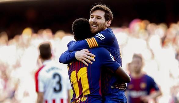 El mejor Barcelona agudiza la depresión del Athletic | 2-0