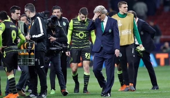 El presidente del Sporting de Portugal suspende a 18 jugadores tras perder ante el Atlético