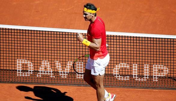 Rafa Nadal alecciona a Zverev y empata ante Alemania | 2-2