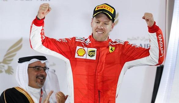 GP de Baréin. Vettel se impone y Alonso remonta hasta ser séptimo