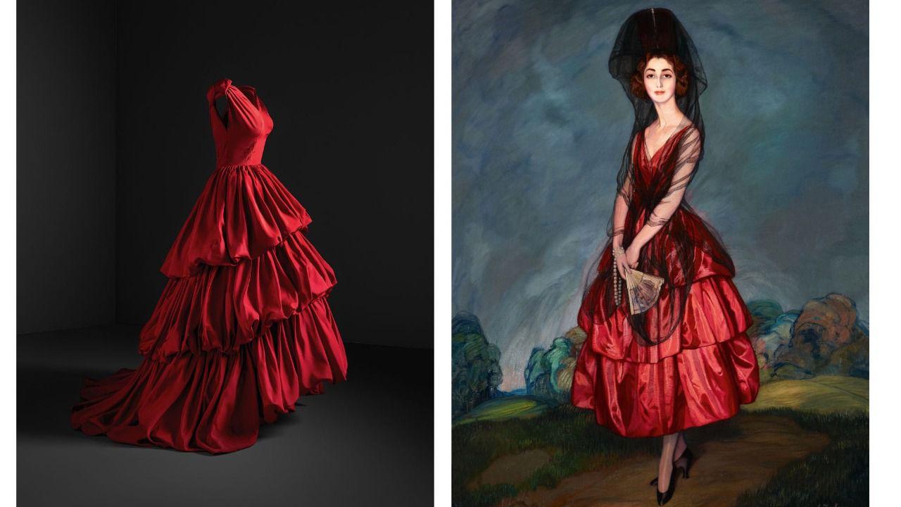 Balenciaga, el modisto total en diálogo con Goya, El Greco o Zurbarán