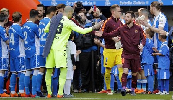 Resumen de LaLiga. Barcelona y Deportivo cierran las puertas del cielo y el infierno