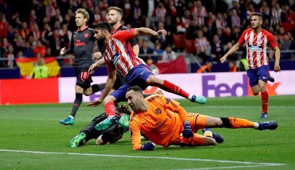 El Atlético y Diego Costa cazan al Arsenal y jugarán la final | 1-0