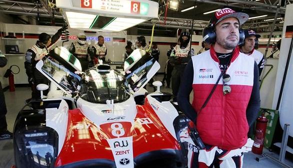 6 Horas de Spa. Alonso saldrá desde la 'pole' en su debut en el Mundial de Resistencia