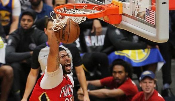 NBA. Los Pelicans castigan la indolencia de los Warriors y los Rockets, a los Jazz