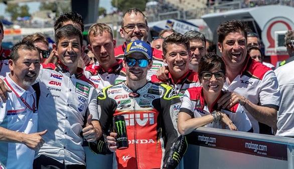 GP de España. Crutchlow es el mejor y Marc Márquez, quinto