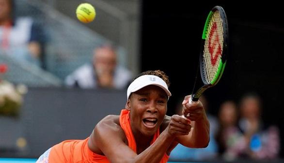 Madrid Open. Venus Williams se despide del torneo a las primeras de cambio