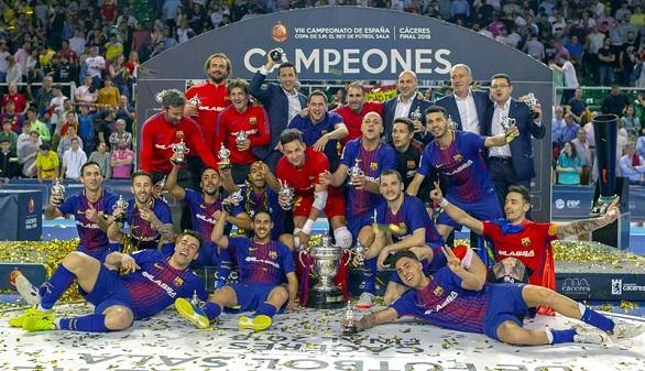 Copa del Rey. El Barcelona tumba al Jaén para alcanzar su quinto título copero   4-3