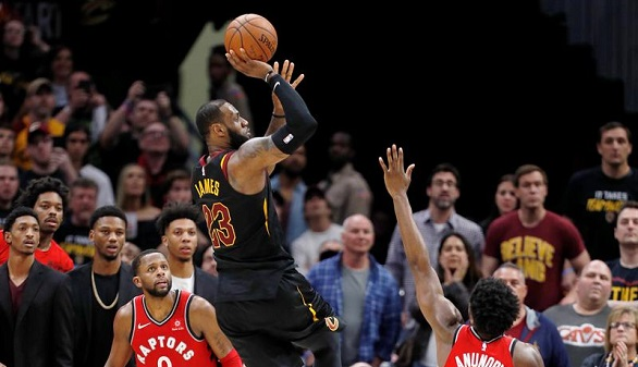 NBA. El oficio y LeBron James, hacen que Celtics y Cavaliers aceleren