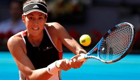 Madrid Open. Garbiñe Muguruza gana a Shuai Peng y no falla en su debut