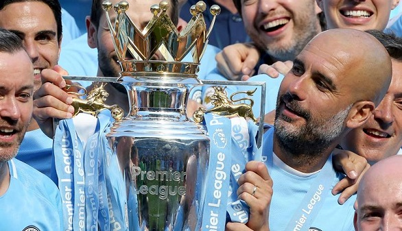 Premier League. El Manchester City de Guardiola bate tres récords en un mismo partido