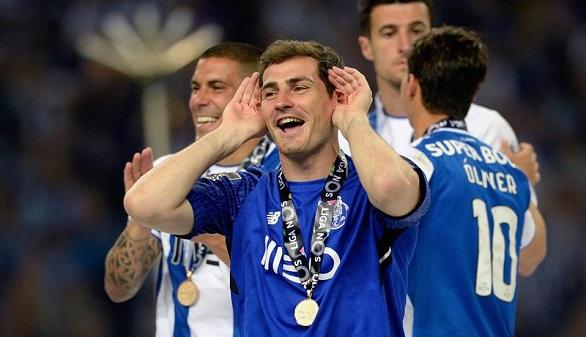 Ligas europeas. Casillas gana su primera Liga con el Oporto y la Juventus roza el Scudetto