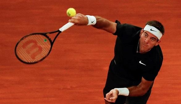 Masters 1.000 de Madrid. Dimitrov se estrella y Del Potro asombra