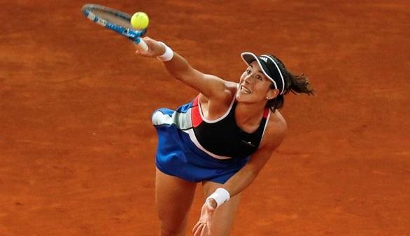 Madrid Open. Muguruza renace para derrotar a Vekic y poner en pie al público