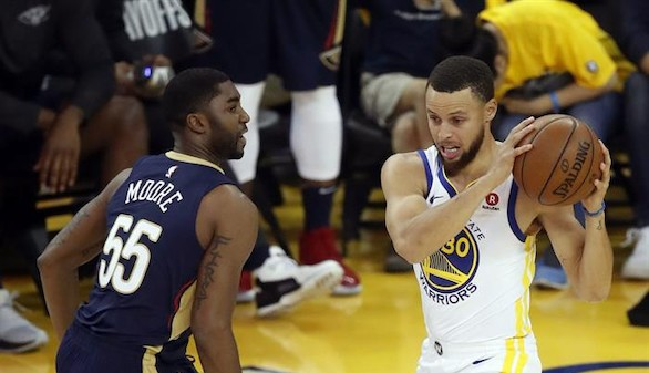 NBA. Curry y Paul dibujan la esperada final entre Warriors y Rockets