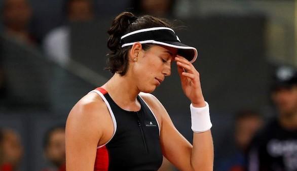Madrid Open. Garbiñe Muguruza sucumbe ante sus fantasmas