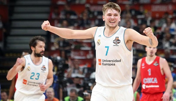 Euroliga. Doncic es nombrado el MVP más joven de la historia