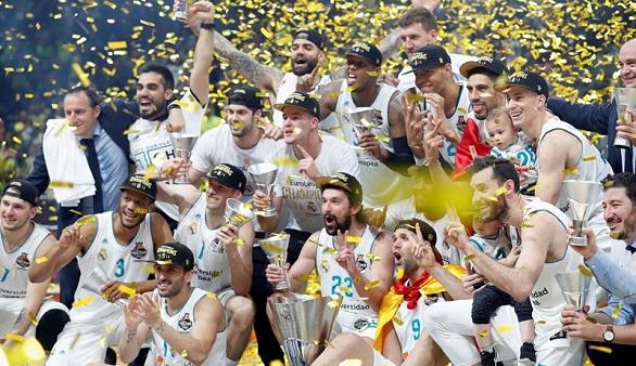 El Real Madrid, campeón de Europa de baloncesto
