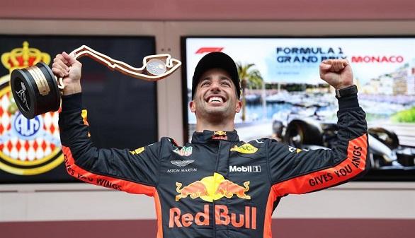 GP de Mónaco. Ricciardo triunfa y Alonso se retira por vez primera en 2018