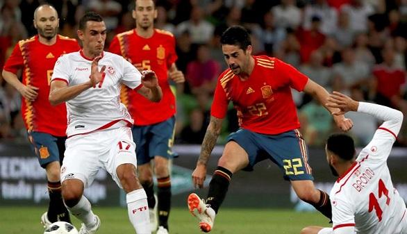 Túnez obliga a Lopetegui a pensar qué España quiere | 0-1