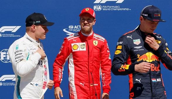 GP de Canadá. Vettel hace 'pole' y Hamilton cae al cuarto puesto