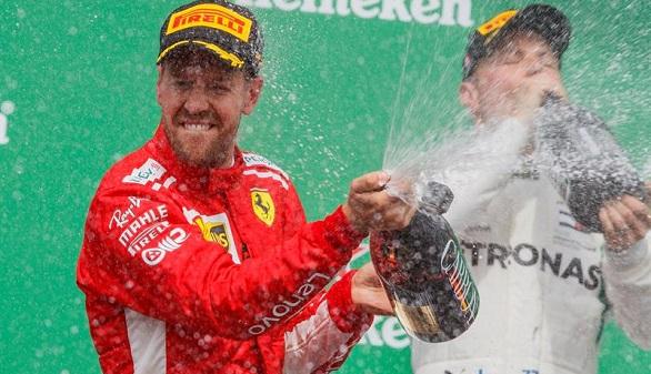 GP de Canadá. Vettel luce como nuevo líder y Alonso vuelve a abandonar