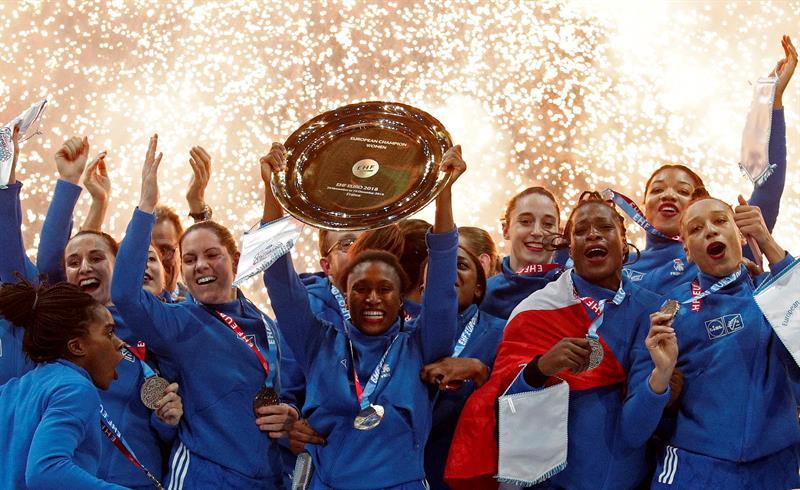 Europeo femenino. Francia derrota a Rusia y se proclama campeona por vez primera