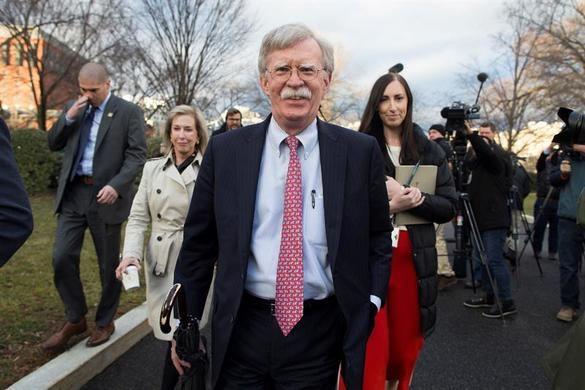 El asesor de seguridad nacional John BoltonEl asesor de seguridad nacional John Bolton.