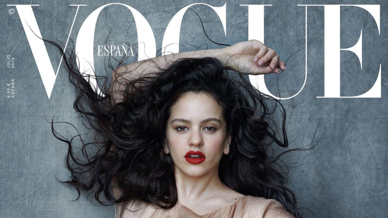 Rosalía, primera artista española en la portada de Vogue España