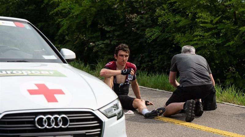 Tour de Francia. La mala suerte, finalmente, llega al antiguo Sky: tras Froome, se cae Thomas