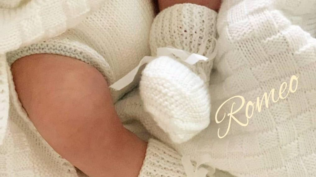 Andrés Iniesta anuncia por sorpresa el nacimiento de su cuarto hijo, Romeo