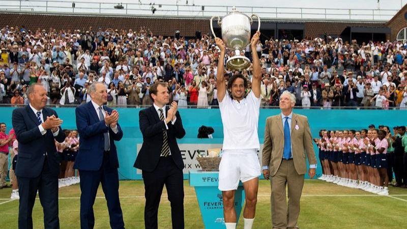 Queen's. Feliciano López emula a Pete Sampras y se proclama campeón