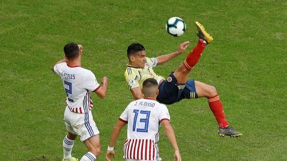 Copa América. Colombia competa el pleno de victorias ante Paraguay | 1-0