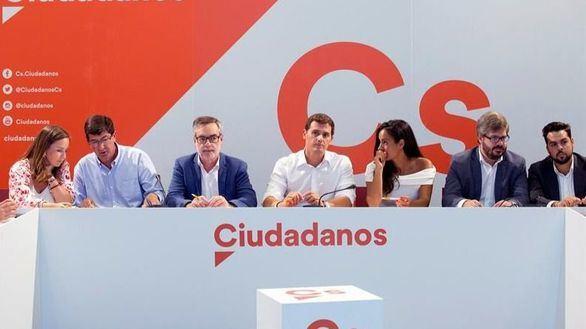 Villegas reitera que no apoyarán la investidura de Sánchez y niega una crisis en Ciudadanos