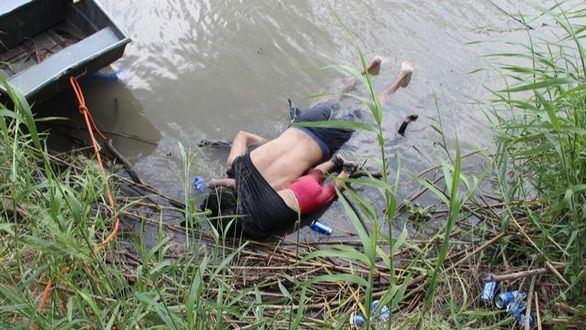 La bebé Valeria, ahogada al tratar de cruzar el río Bravo, conmociona al planeta
