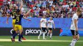 Mundial femenino. Suecia salda cuentas con Alemania  1-2