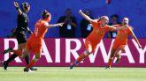 Mundial femenino. Países Bajos impone su jerarquía a Italia  2-0