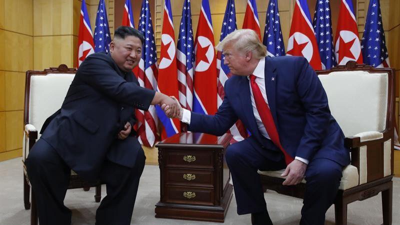 Trump y Kim Jong-un protagonizan un