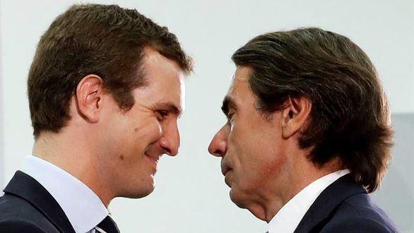 Aznar y Casado coinciden en no apoyar gratuitamente a Sánchez