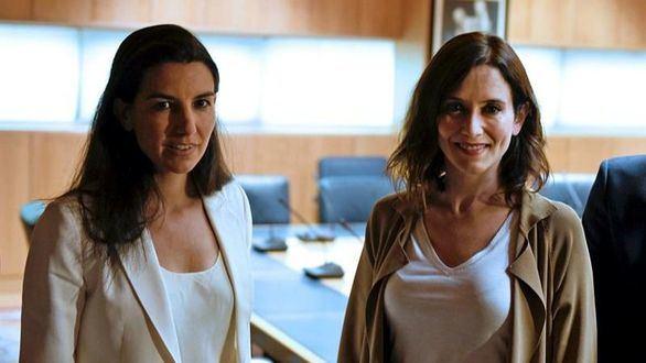 Vox votará en contra de Díaz Ayuso sin pacto a tres con PP y Cs