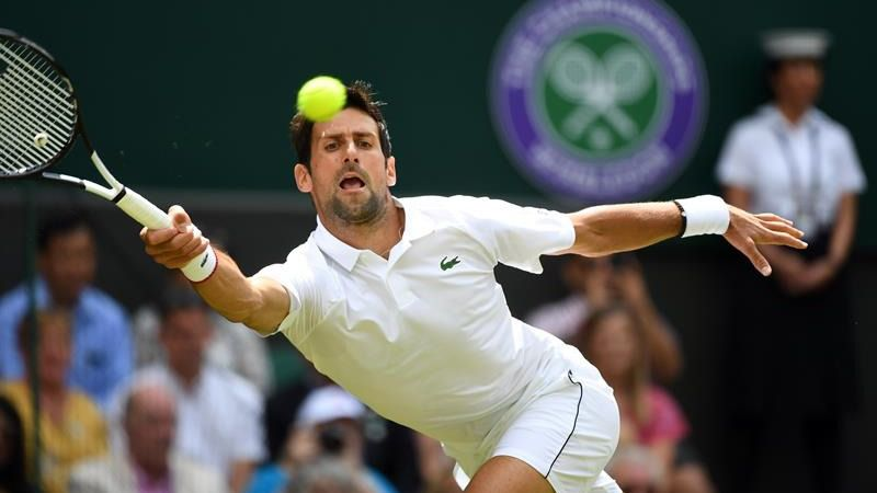 Wimbledon. Djokovic debuta con una victoria sólida ante Kohlschreiber