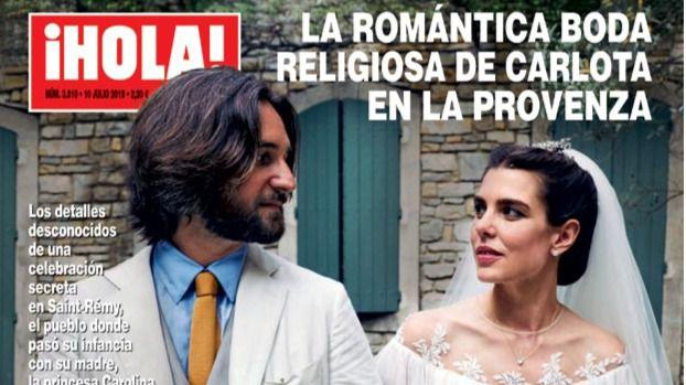 La boda religiosa de Carlota, el peor momento de Pantoja y la mudanza de Toñi Moreno