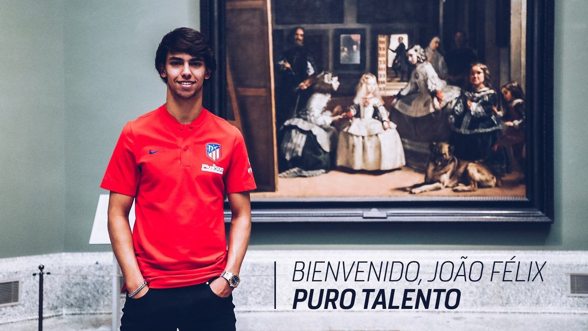 El Atlético ficha a la joven promesa lusa Joao Félix por 126 millones de euros