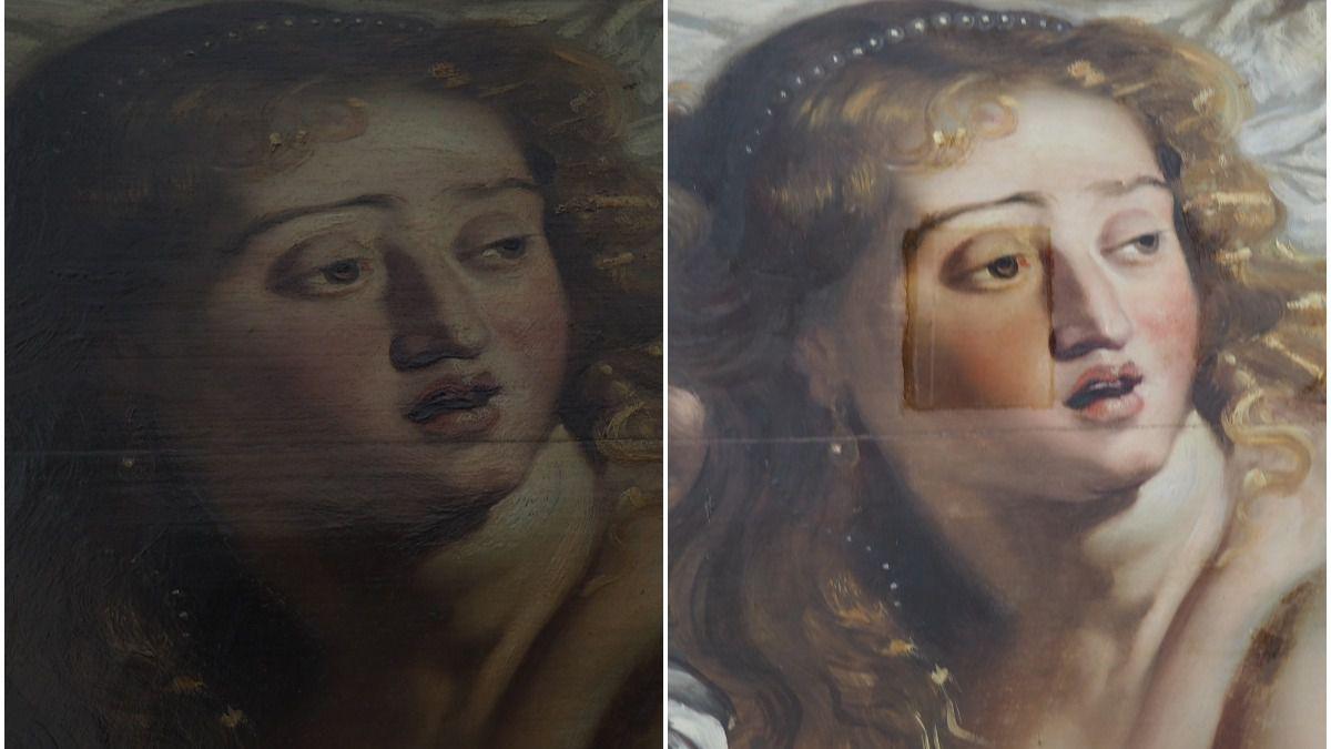 Susana y los viejos, de Rubens, recupera sus colores originales