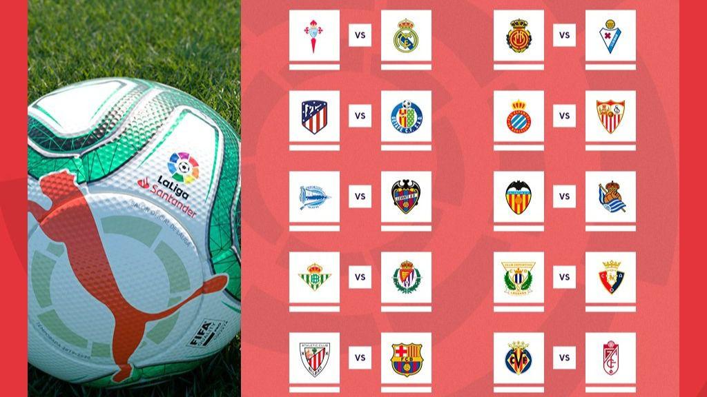 Calendario Celta Vigo.Primera Jornada De Liga Athletic Barcelona Atletico Getafe Y Celta