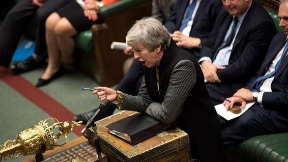 El adiós de Theresa May con advertencia a sus compañeros
